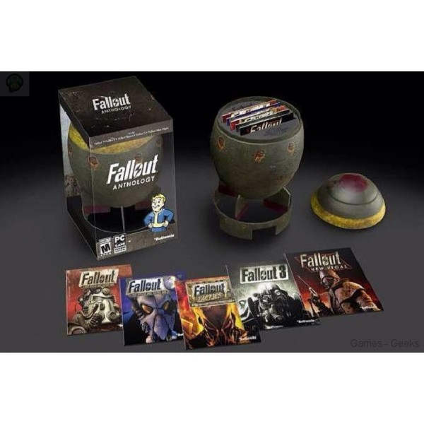 FALLOUT ANTHOLOGY (+ MINI-NUKE COLLECTIBLE CASE) PC USA NEW