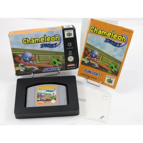 CHAMELEON TWIST N64 PAL-EURO OCCASION