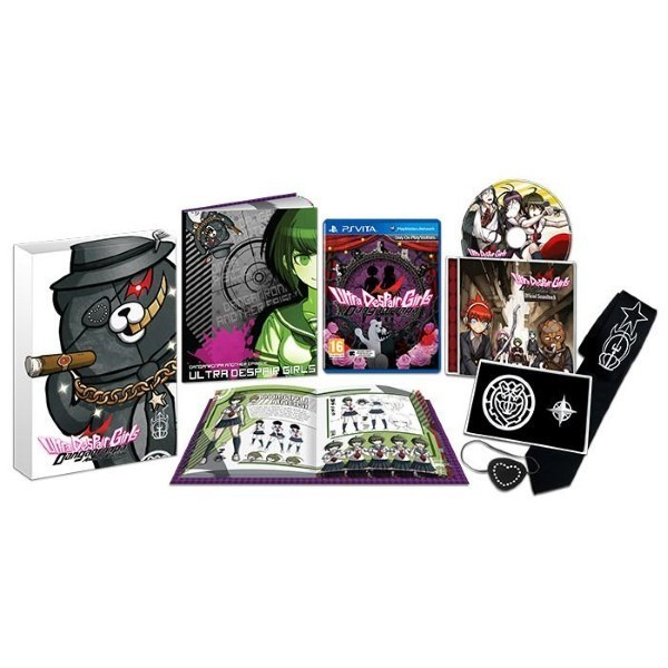 DANGANRONPA ANOTHER EPISODE ULTRA DESPAIR GIRLS COLLECTOR PSVITA UK OCCASION
