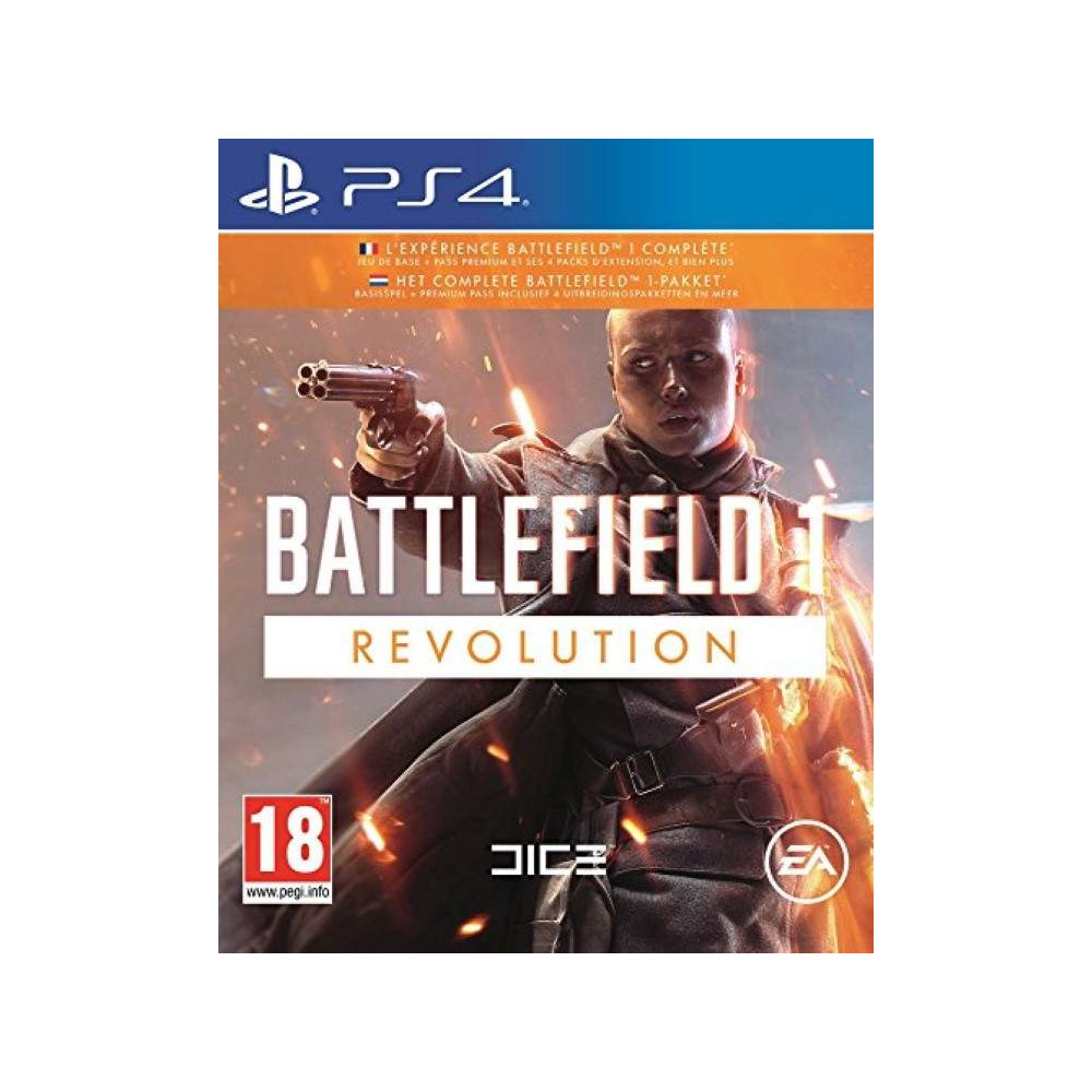 BATTLEFIELD 1 REVOLUTION PS4 UK OCCASION
