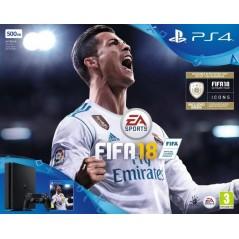 CONSOLE PS4 SLIM 500GO + FIFA 18 EURO NEW