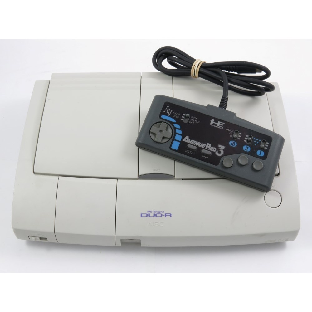 CONSOLE NEC PC ENGINE DUO-R MODIFIEE RGB NTSC-JPN OCCASION