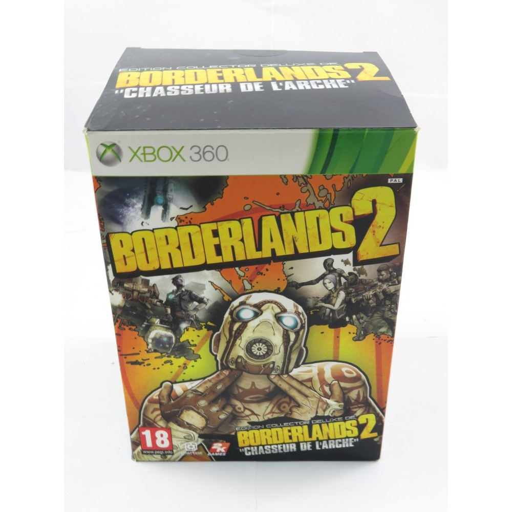 BORDERLANDS 2 EDITION COLLECTOR CHASSEUR DE L'ARCHE XBOX 360 PAL-FR OCCASION