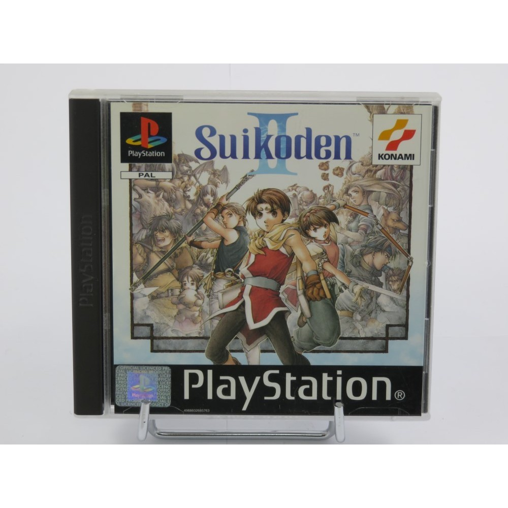 SUIKODEN II PS1 PAL-FR (NEAR MINT)