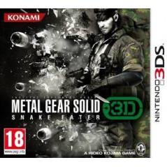 METAL GEAR SOLID SNAKE EATER 3D 3DS ITALIEN AVEC TEXTE EN FRANCAIS OCCASION