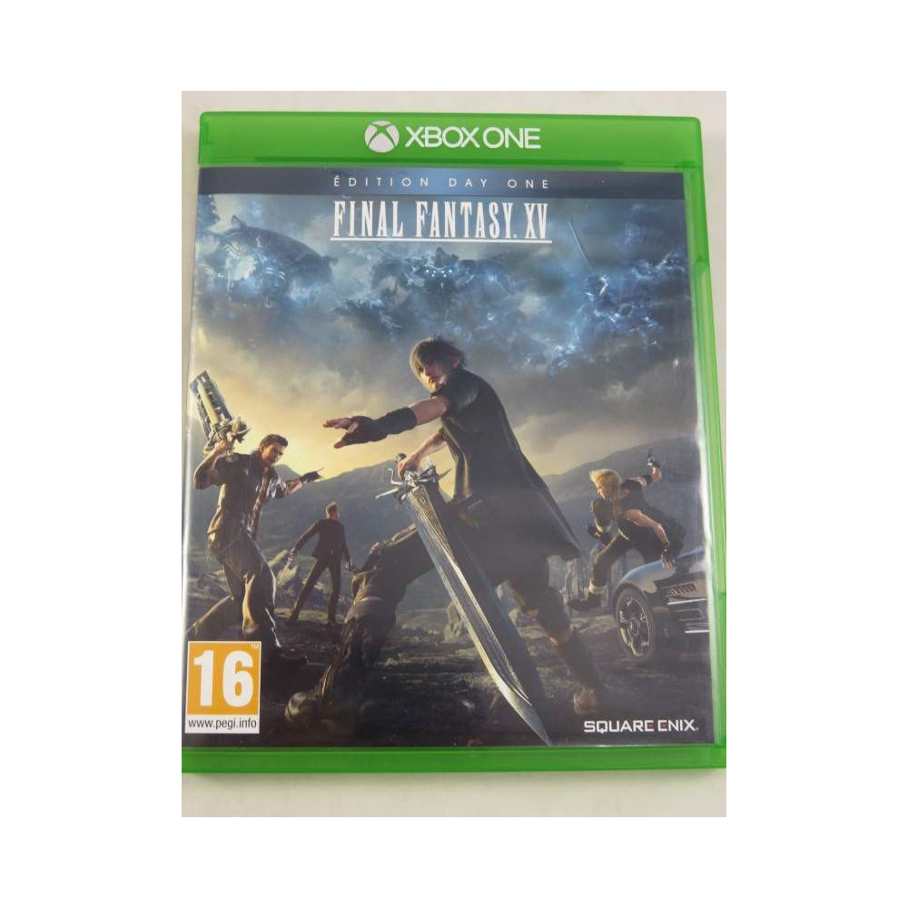 FINAL FANTASY XV DAY ONE EDITION XBOX ONE EURO FR OCCASION