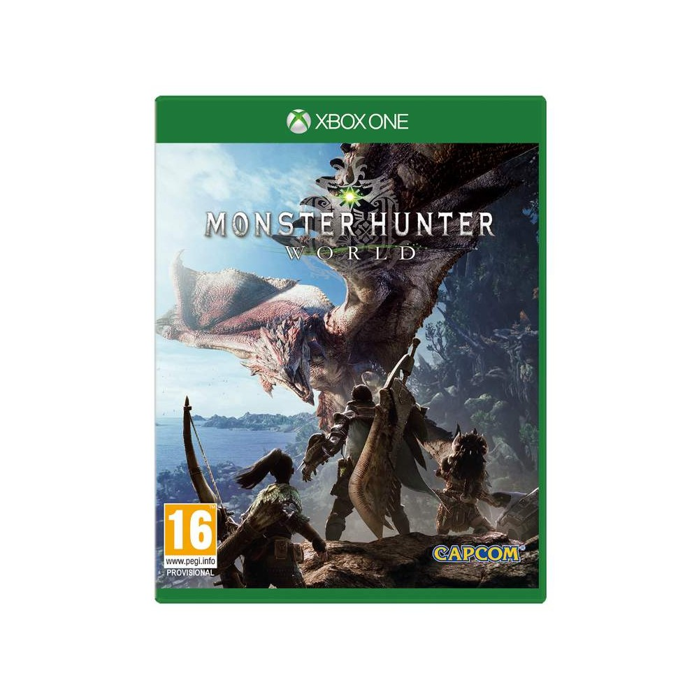MONSTER HUNTER WORLD XBOX ONE EURO FR OCCASION