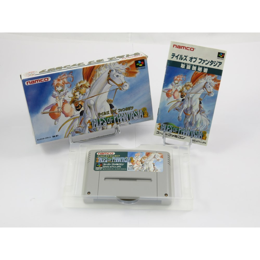TALES OF PHANTASIA SFC NTSC-JPN OCCASION