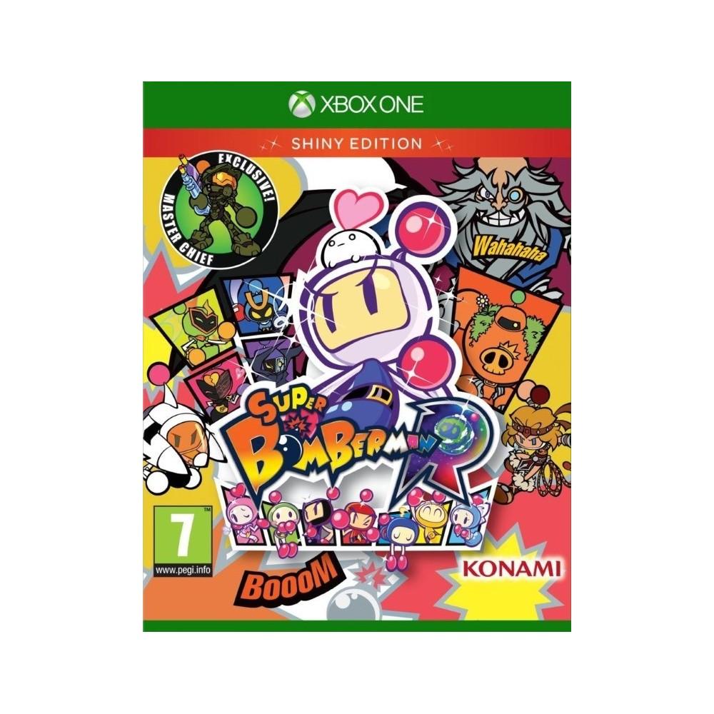 SUPER BOMBERMAN R SHINY EDITION XBOX ONE UK NEW