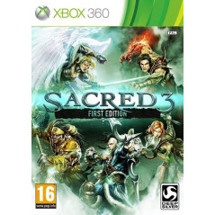 SACRED 3 FIRST EDITION XBOX 360 PAL-FR OCCASION