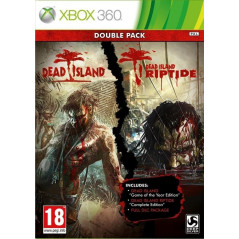 DEAD ISLAND DOUBLE PACK XBOX 360 PAL-FR OCCASION
