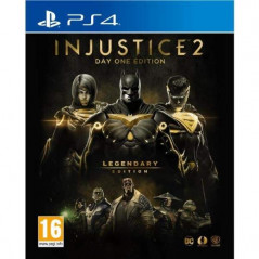 INJUSTICE 2 DAY ONE EDITION LEGENDARY EDITION PS4 FR OCCASION