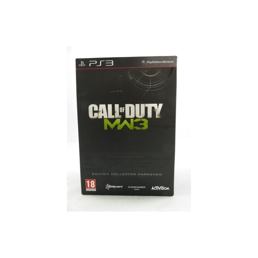 CALL OF DUTY MODERN WARFARE 3 EDITION COLLECTOR HARDENED PS3 FR OCCASION