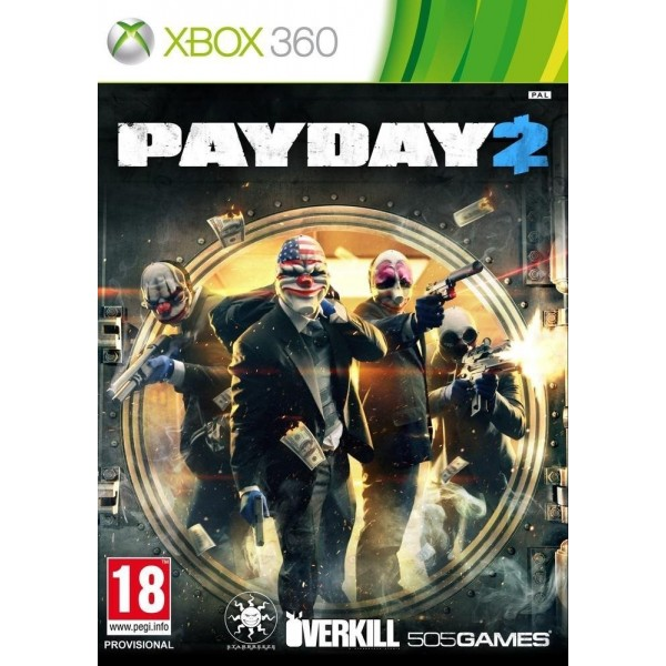 PAYDAY 2 XBOX 360 PAL-FR OCCASION