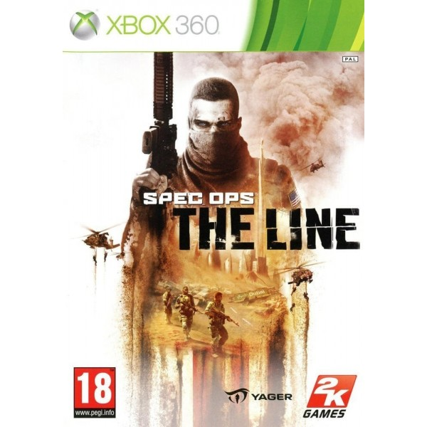 SPEC OPS THE LINE XBOX 360 PAL-FR OCCASION
