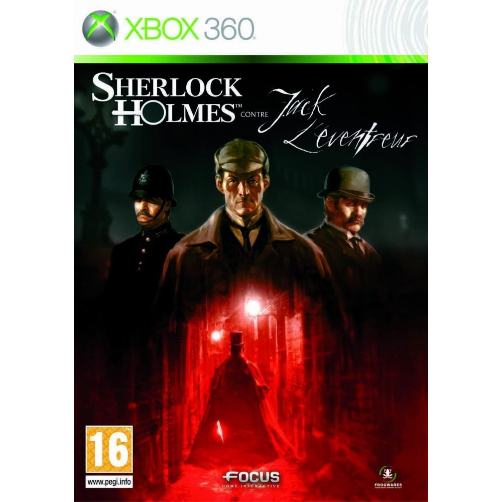 SHERLOCK HOLMES CONTRE JACK L EVENTREUR XBOX 360 PAL-FR OCCASION