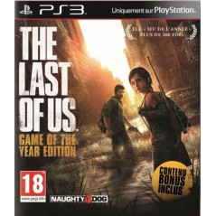 THE LAST OF US GAME OF THE YEAR EDITION PS3 FR OCCASION