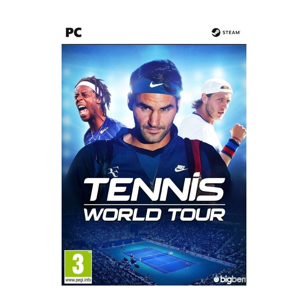 TENNIS WORLD TOUR PC EURO FR NEW