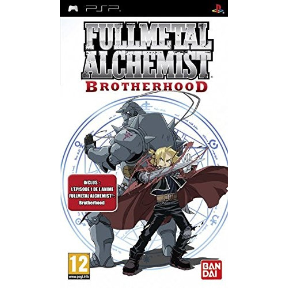 FULL METAL ALCHIMIST BROTHERHOOD PSP FR OCCASION