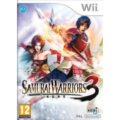 SAMOURAI WARRIORS 3 WII PAL-FR OCCASION