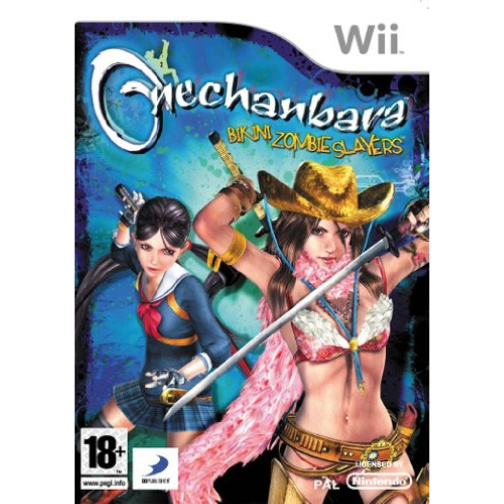 ONECHANBARA KIKINI ZOMBIE SLAYERS WII PAL-FR OCCASION
