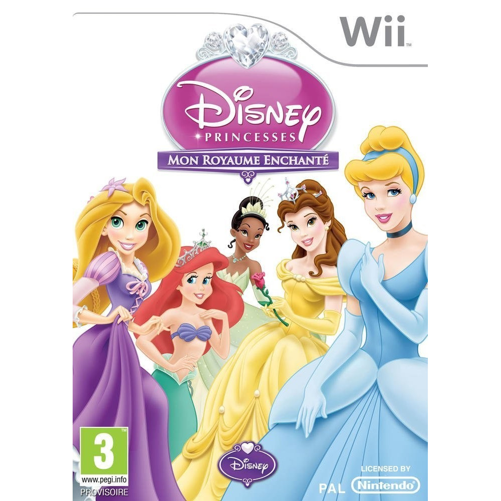 DISNEY PRINCESSES : MON ROYAUME ENCHANTE WII PAL-FRA OCCASION