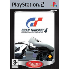 GRAN TURISMO 4 PLATINUM PS2 PAL-FR OCCASION