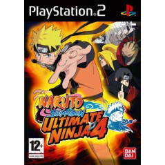 NARUTO SHIPPUDEN ULTIMATE NINJA 4 PS2 PAL-FR OCCASION