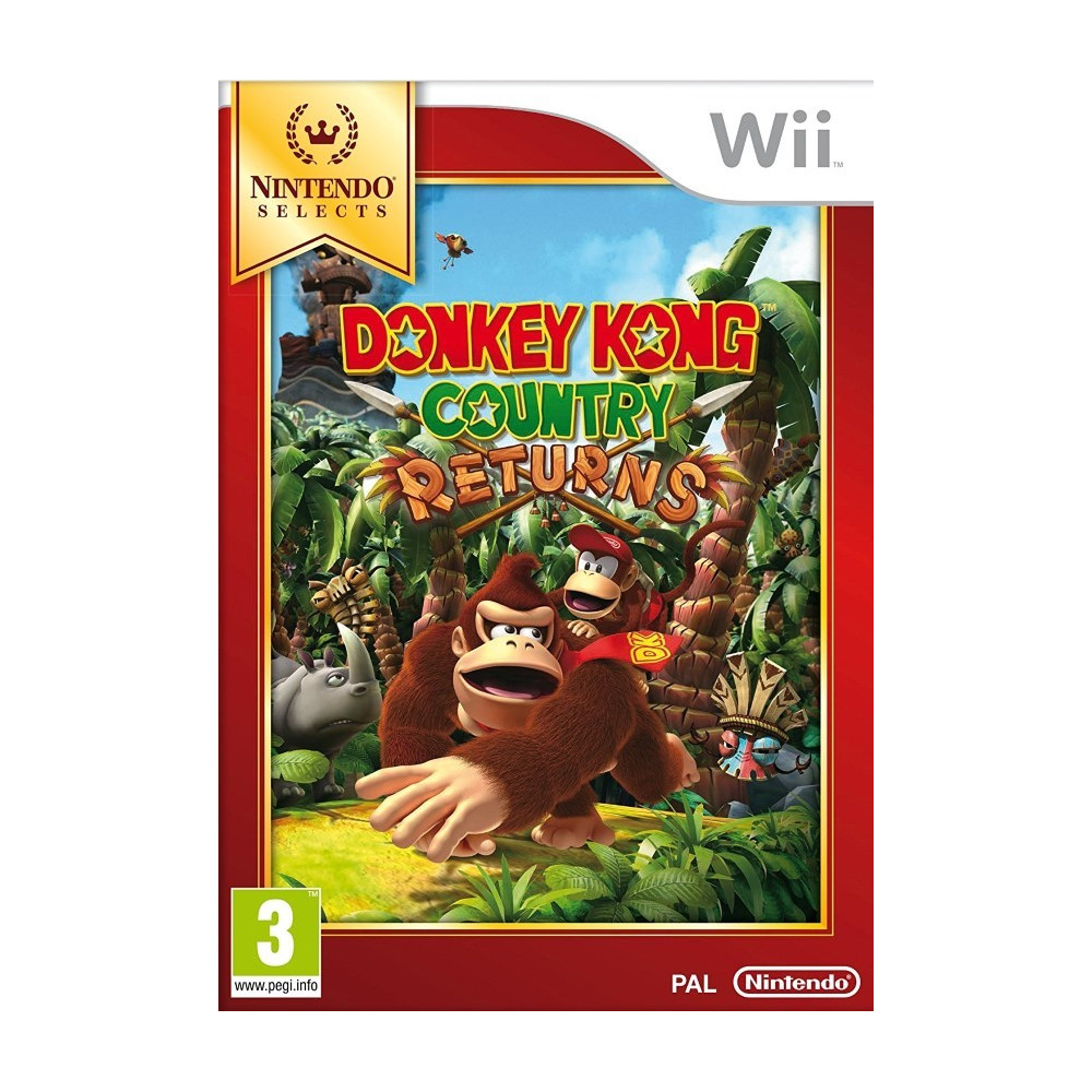 DONKEY KONG COUNTRY RETURNS NINTENDO SELECTS WII FR NEW