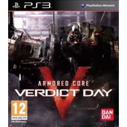 ARMORED CORE VERDICT DAY PS3 EURO OCCASION
