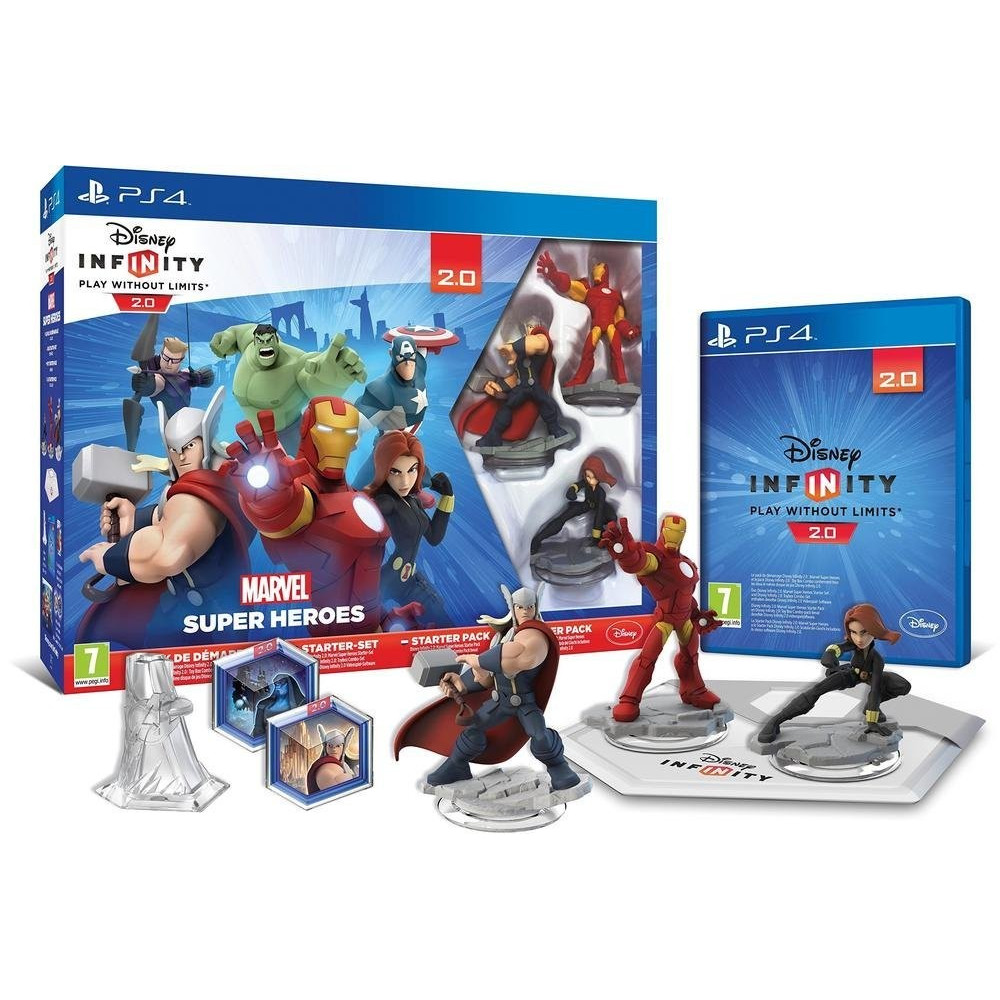 DISNEY INFINITY 2.0 + SOCLE PS4 FR OCCASION