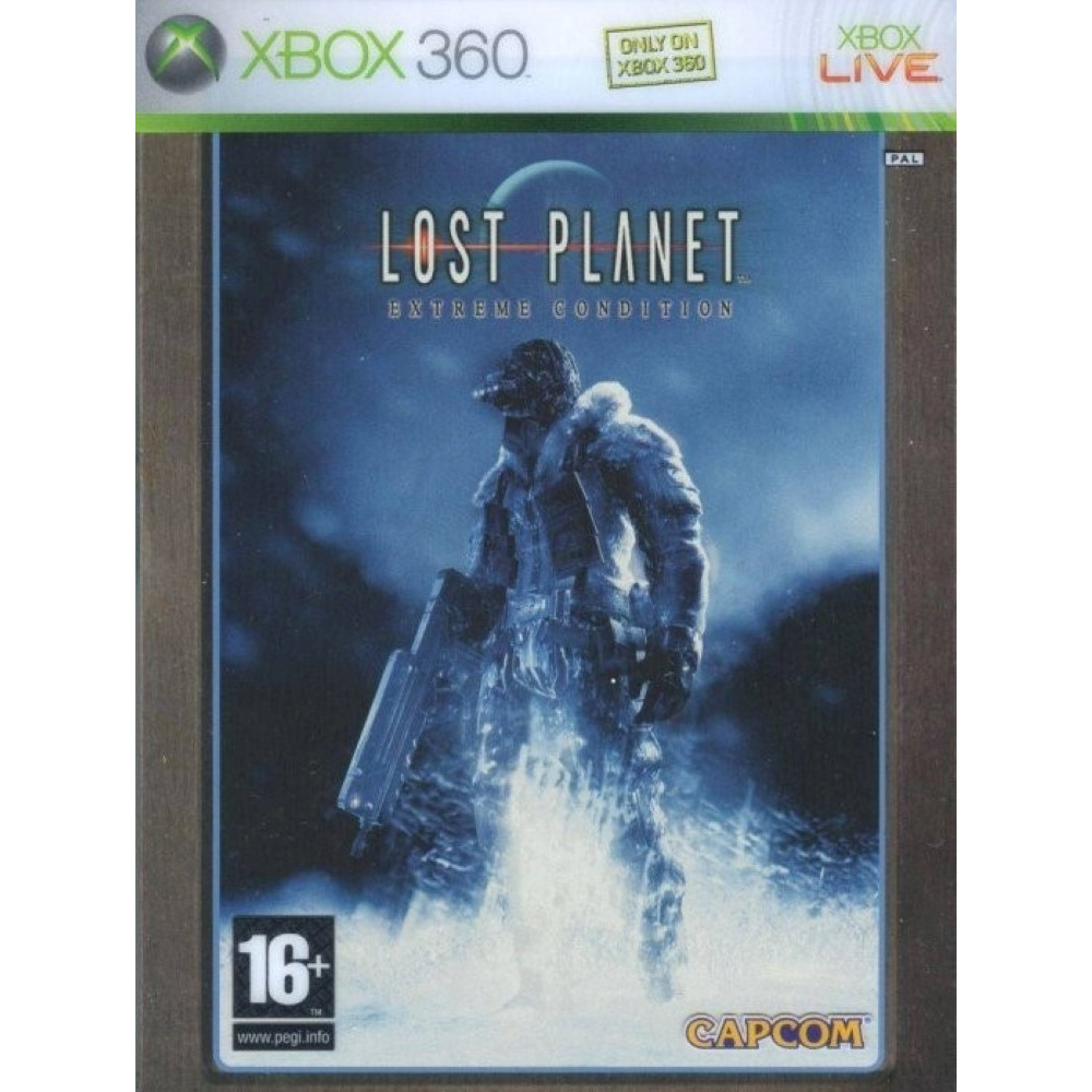 LOST PLANET EXTREME CONDITION EDITION LIMITEE XBOX 360 PAL-FR OCCASION