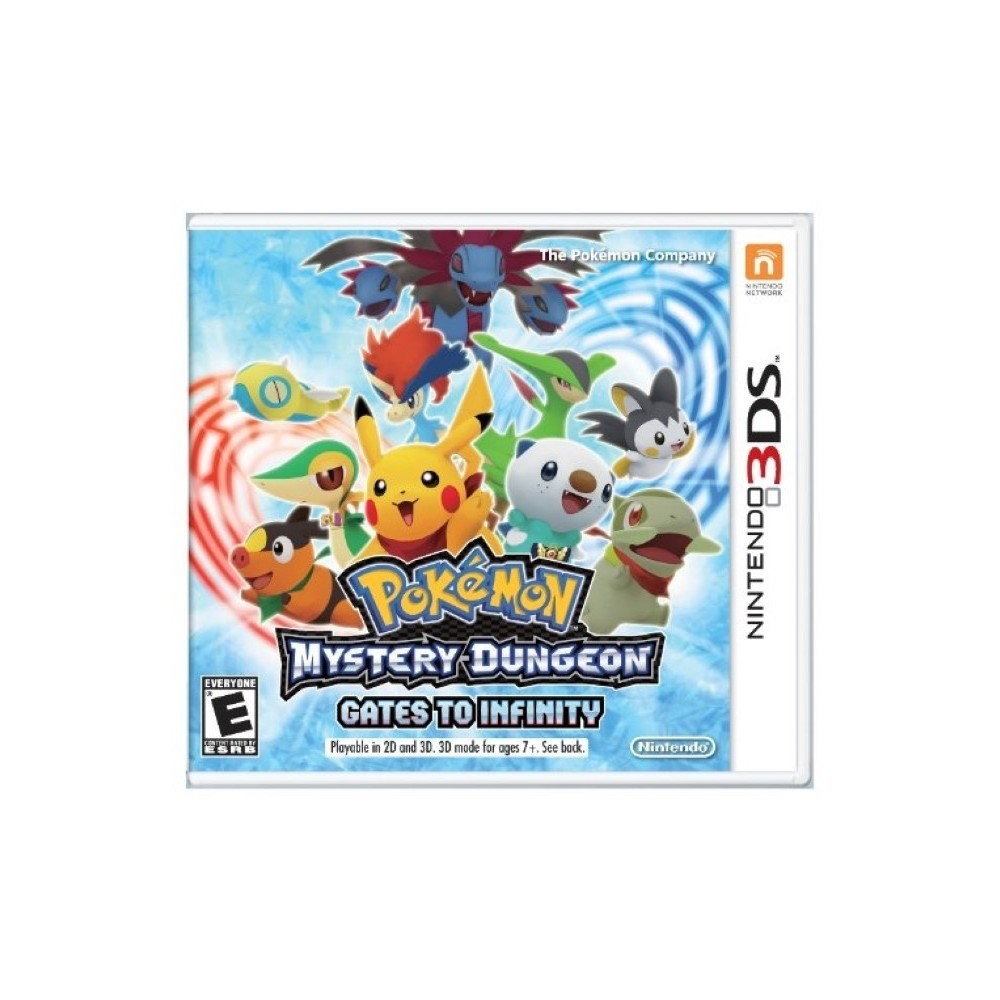 POKEMON MYSTERY DUNGEON GATES TO INFINITY 3DS US OCCASION