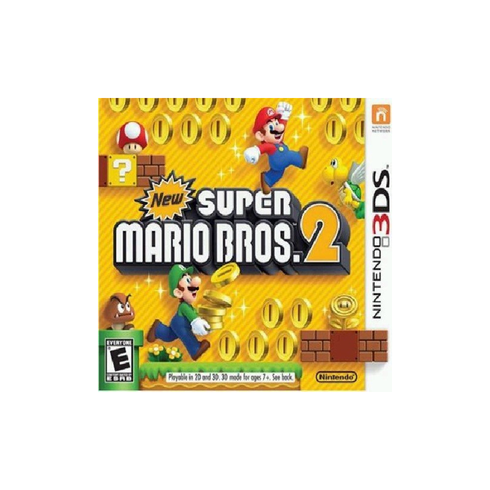 NEW SUPER MARIO BROS 2 3DS US OCCASION