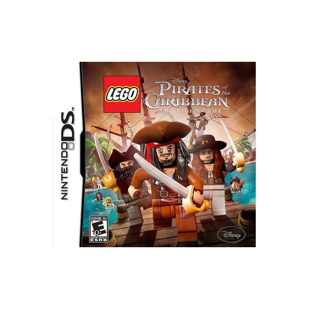 LEGO PIRATES DES CARAIBES 3DS US OCCASION