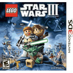 LEGO STAR WARS 3 THE CLONE WARS 3DS US OCCASION