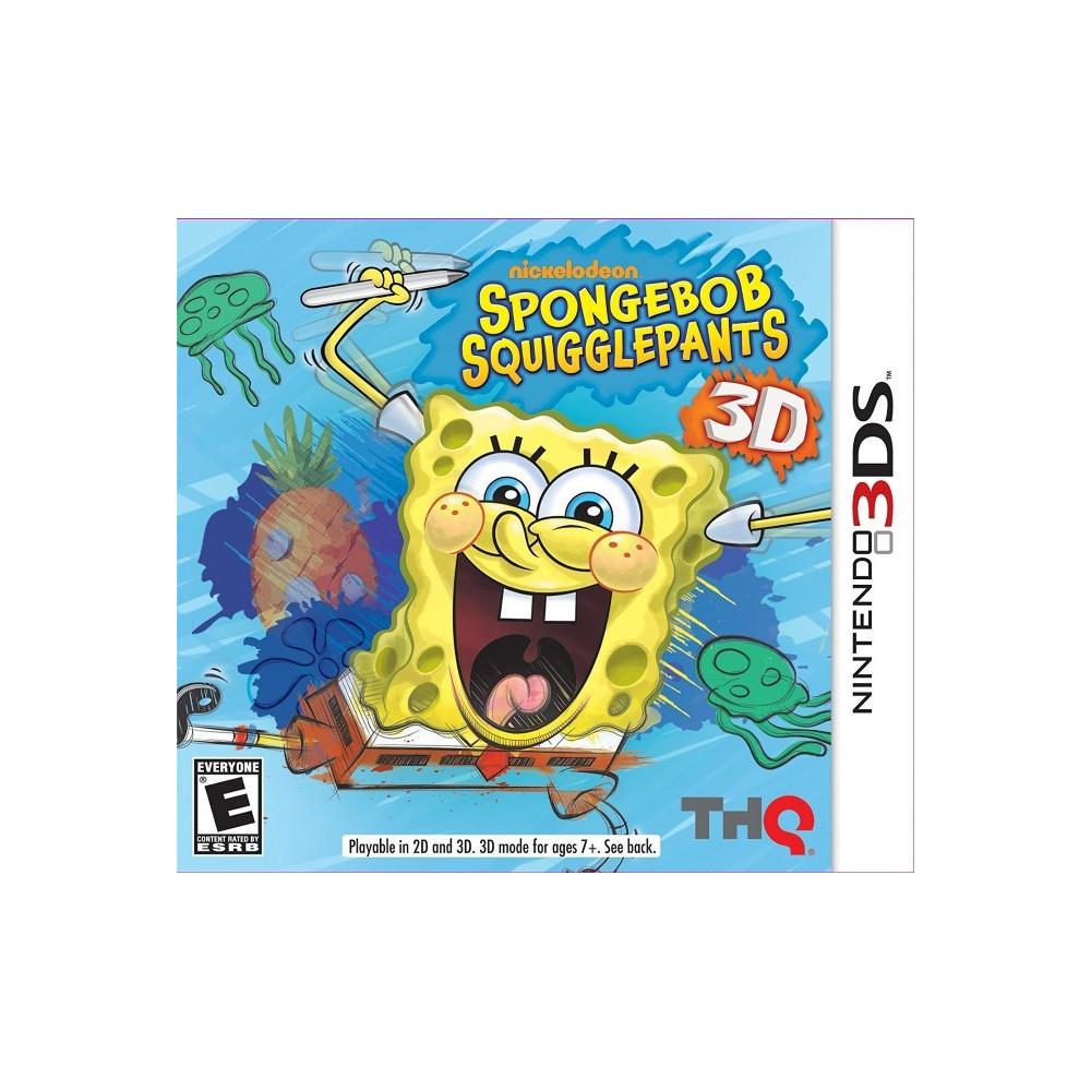 SPONGEBOB SQUIGGLEPANTS 3D 3DS US OCCASION