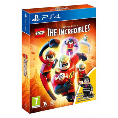 LEGO THE INCREDIBLES + FIGURINE LEGO PS4 UK NEW