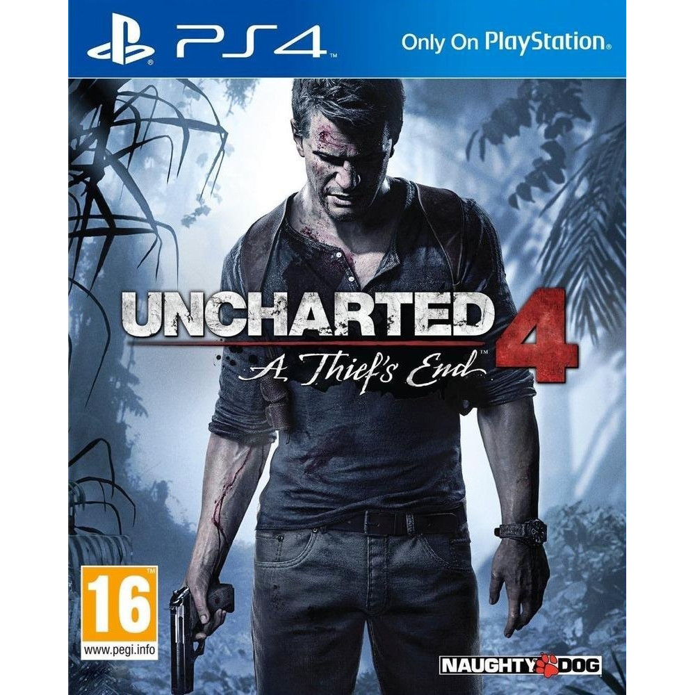 UNCHARTED 4 PS4 EURO OCCASION