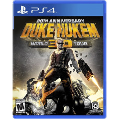 DUKE NUKEM 3D 20TH ANNIVERSARY WORLD TOUR PS4 US OCCASION