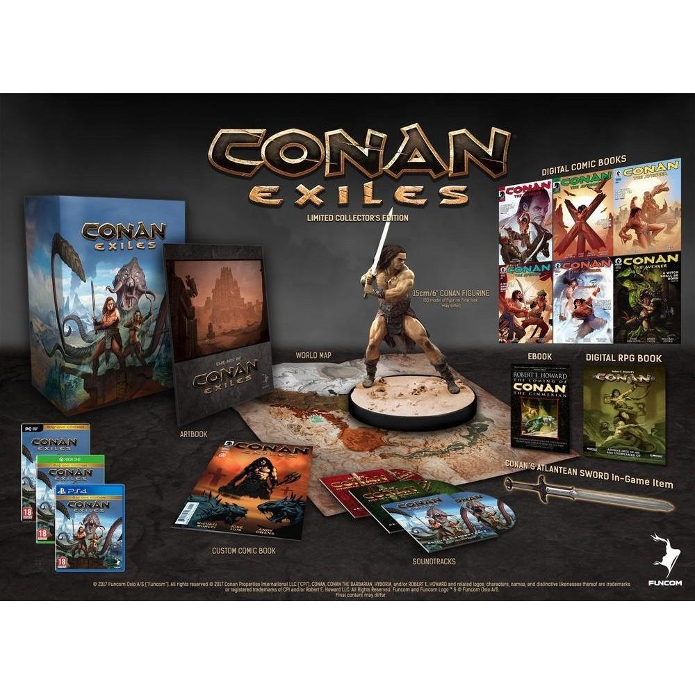 CONAN EXILES COLLECTOR S EDITION PS4 FR OCCASION