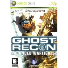 GHOST RECON ADVANCE WARFIGHTER XBOX 360 PAL-FR OCCASION