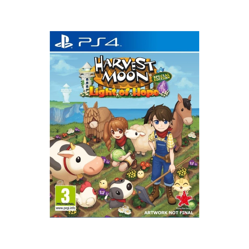 HARVEST MOON LIGHT OF HOPE SPECIAL EDITION PS4 UK NEW