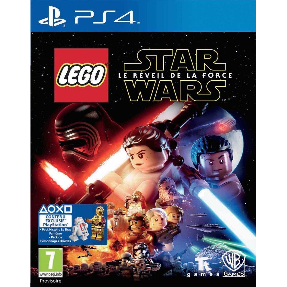 LEGO STAR WARS SPECIAL EDITION PS4 FR OCCASION