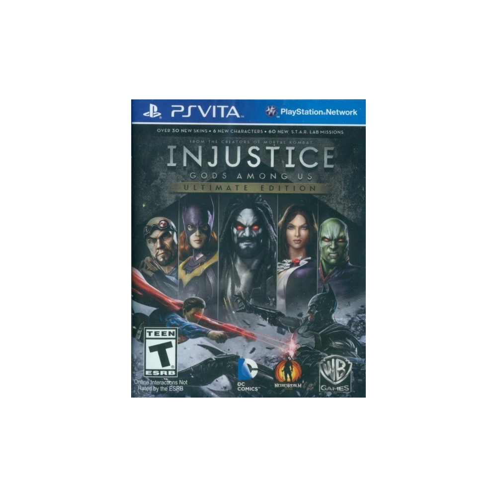 INJUSTICE GODS AMONG US ULTIMATE EDITION PSVITA US OCCASION