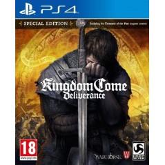 KINGDOM COME DELIVRANCE PS4 ALLEMAND AVEC TEXTE EN FRANCAIS OCCASION