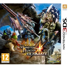 MONSTER HUNTER 4 ULTIMATE 3DS PAL-UK OCCASION