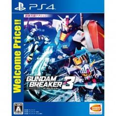 GUNDAM BREAKER 3 WELCOME PRICE PS4 JPN OCCASION