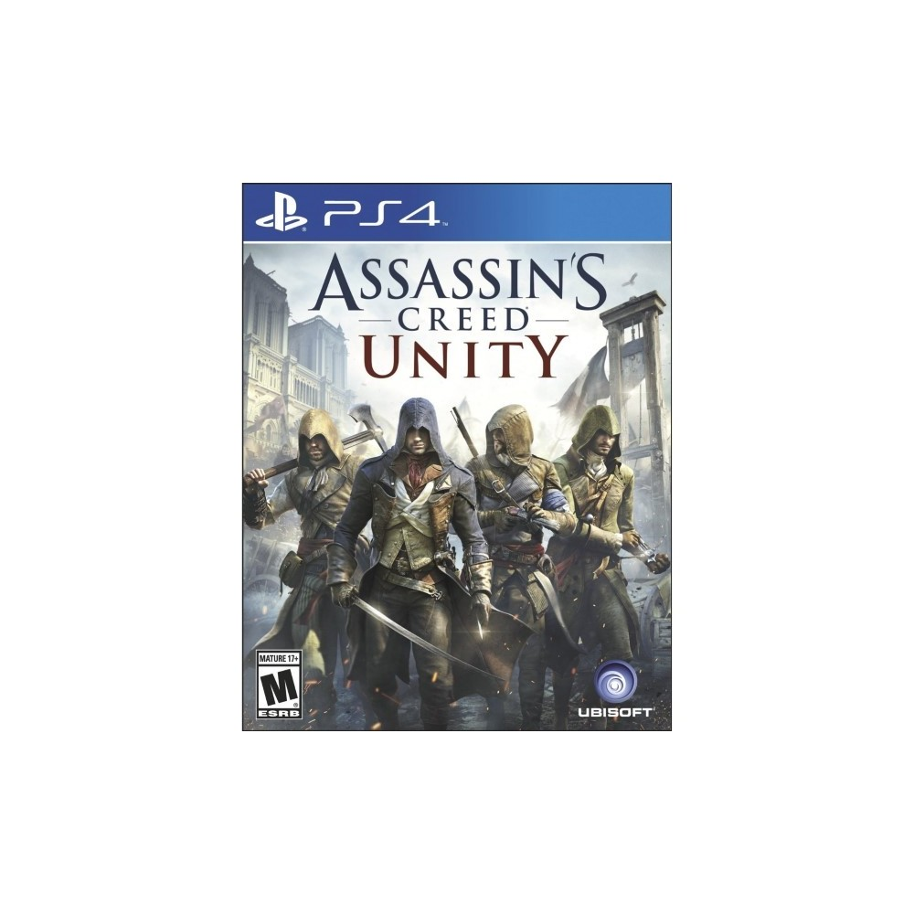 ASSASSIN S CREED UNITY LIMITED EDITION PS4 USA OCCASION