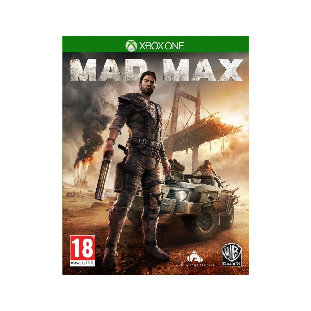 MAD MAX XBOX ONE FR OCCASION